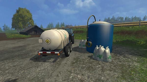 Lizard Fertilizer Trailer v 1.0 [MP] 1