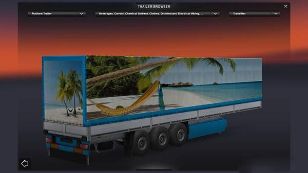 Maldivy Beach Trailer