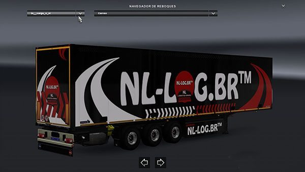 NL Logistica Brazsil Trailers Pack