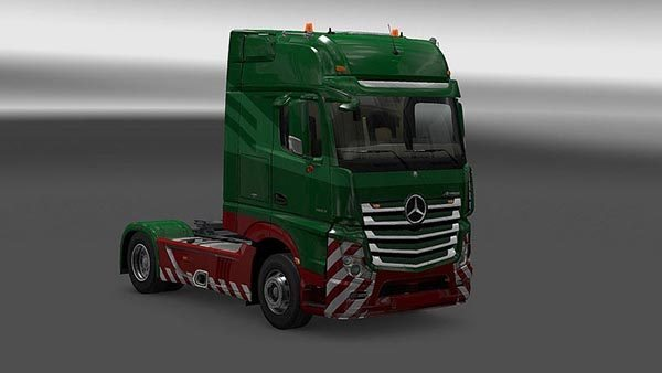 New Actros Plastic Parts and more v 3.4.0