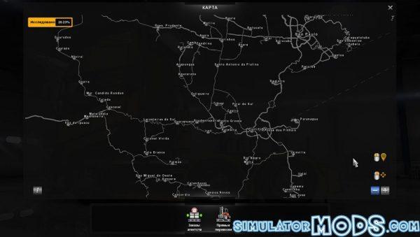 South America Map - Farming simulator 2017 / 17 mods | ATS mods