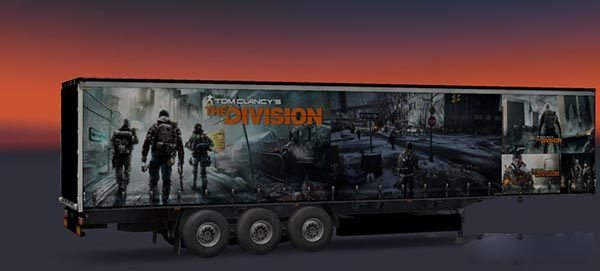 Tom Clancys the Division Trailer Skin