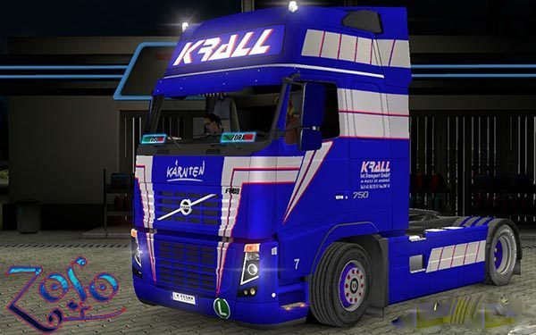 Volvo Classic Ohaha Krall Internationale Transport Skin