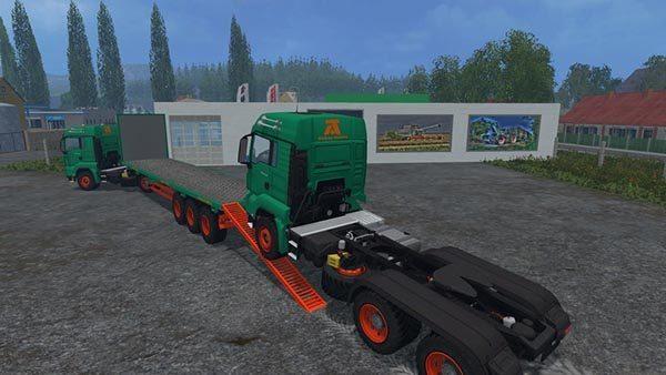 Aguas Tenias Platform Truck v 1.0 [MP] 1