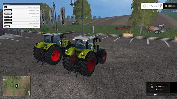 CLAAS AXION 950 & 850 PACK v 1.2 [MP] 1