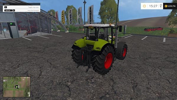 Claas Tractor edit v 1.0 1