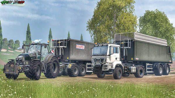 Kroeger Agroliner SMK34 Silage Edition v 1.1 [SP] 2