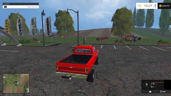 1972 Ford Highboy Puller edit v 1.0 1
