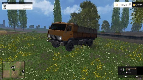KAMAZ 55102 AND TRAILERS v 2.0 1