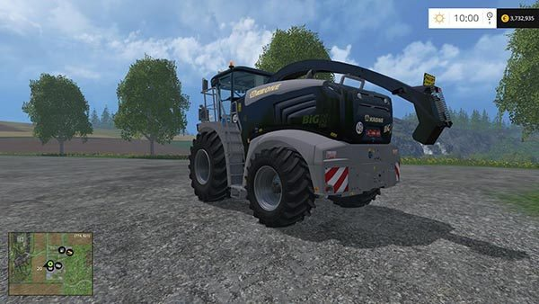 Krone big x580 black edition v 1.0 1
