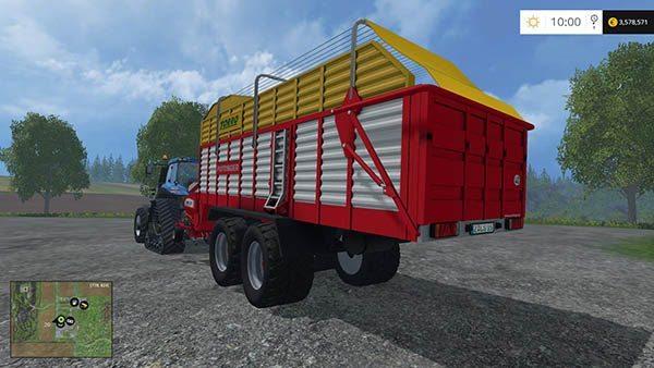 Pottinger Torro 5700 Collecting trailer v 1.0 0