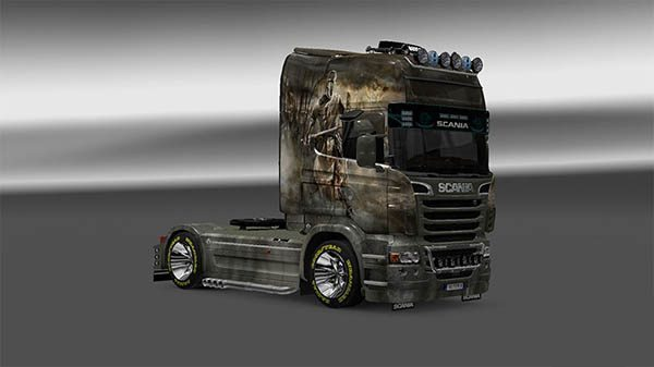 Skin Crusade for Scania R 2009