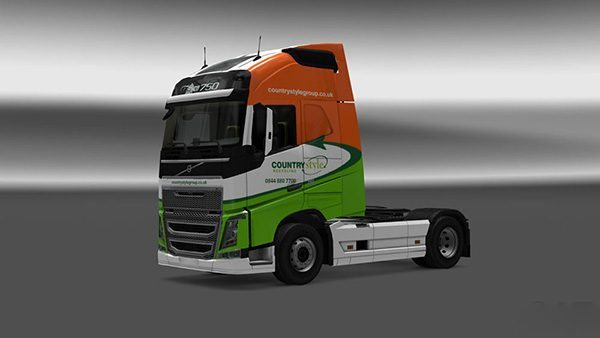 Volvo FH 2012 Countrystyle Recycling Skin