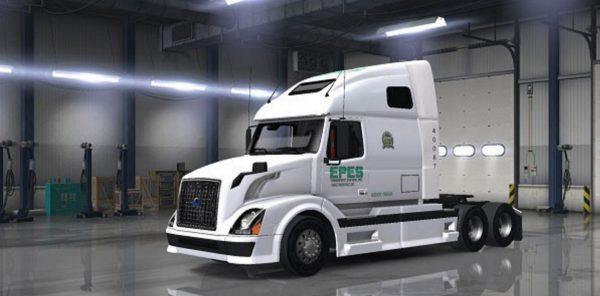 Volvo VNL 670 Epes Transport Skin Mod