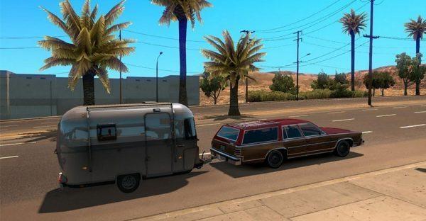 Cars with caravans a i  traffic Mod - Farming simulator 2017