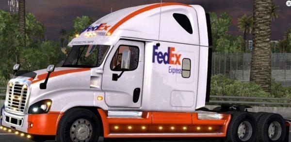 freightliner-cascadia-fedex-skin-mod