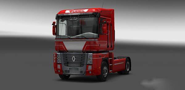 Renault Magnum Vogel Red Skin