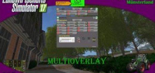 MULTI OVERLAY HUD LS17 CONVERT V2.84 BETA-media-1
